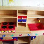 Kinderküche aus Buche