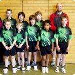 Jugend vom Tischtennisverein Adelheidsdor
